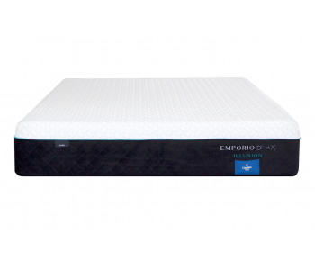 Comfort Sleep Emporio Black X Illusion Plush Mattress
