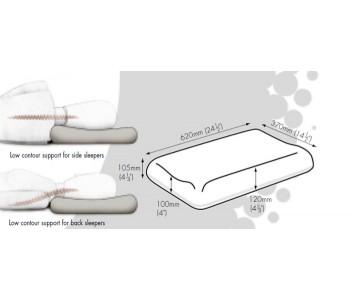 Dentons Low Profile Contoured Pillow