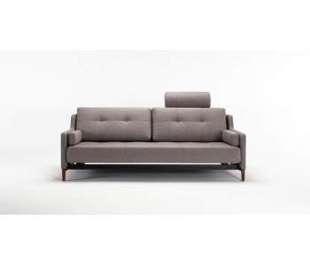 Hermod Deluxe Queen Sofa Bed With Arms - Innovation Living
