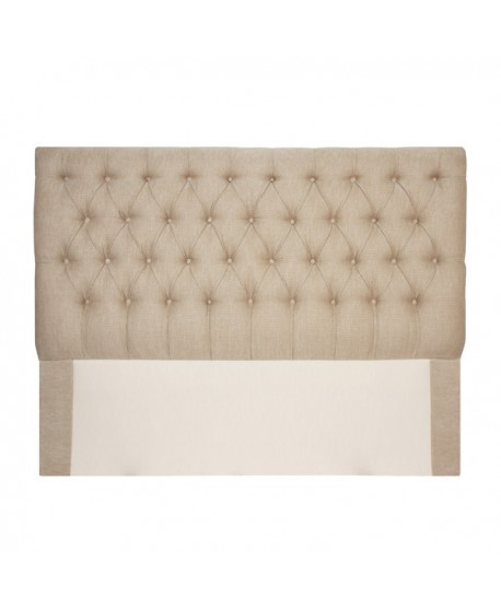 Andre Custom Upholstered Buttoned Bed Head