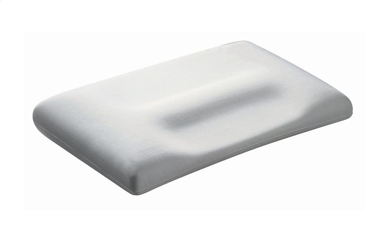 cover pillow white polycotton softeze hermell vitality with snore no medical