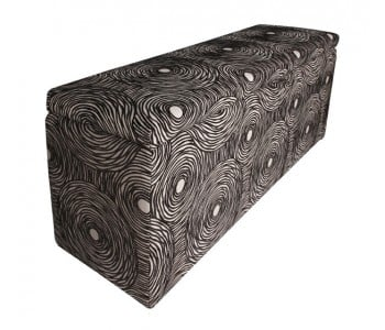 New York Custom Upholstered Storage Box