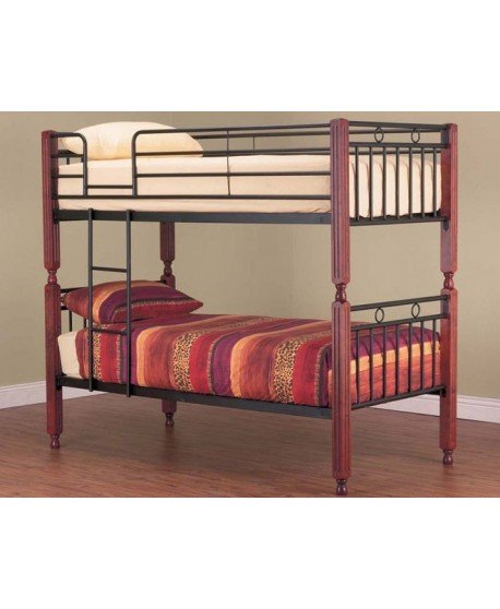 Essex Metal Timber Bunk Bed