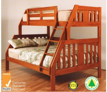Troy Single / Double Timber Bunk Bed