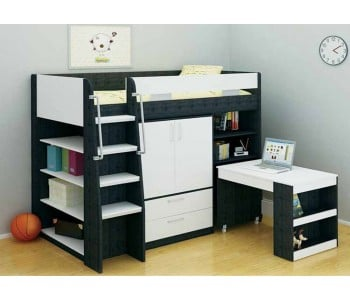 Vectra Storage Bunk Bed