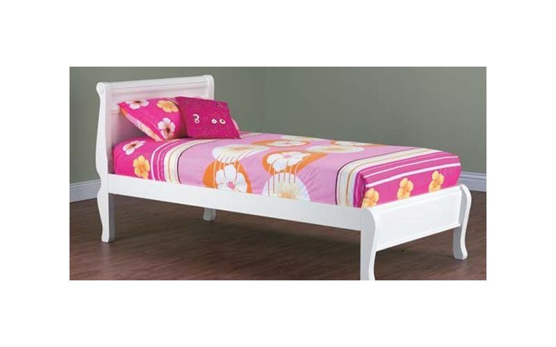 Copenhagen Timber Storage Trundle Bed Frame Kids Bed