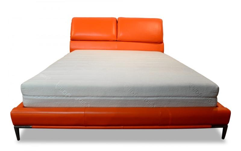 Zoe Genuine Leather Bed