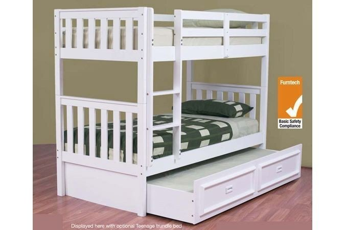 Jester Trio Timber Bunk Bed Custom Made Option