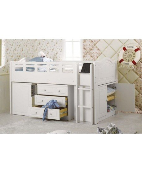 Versaille Loft Bed Suite