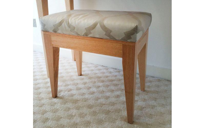 Vanity Stool Timber Chair