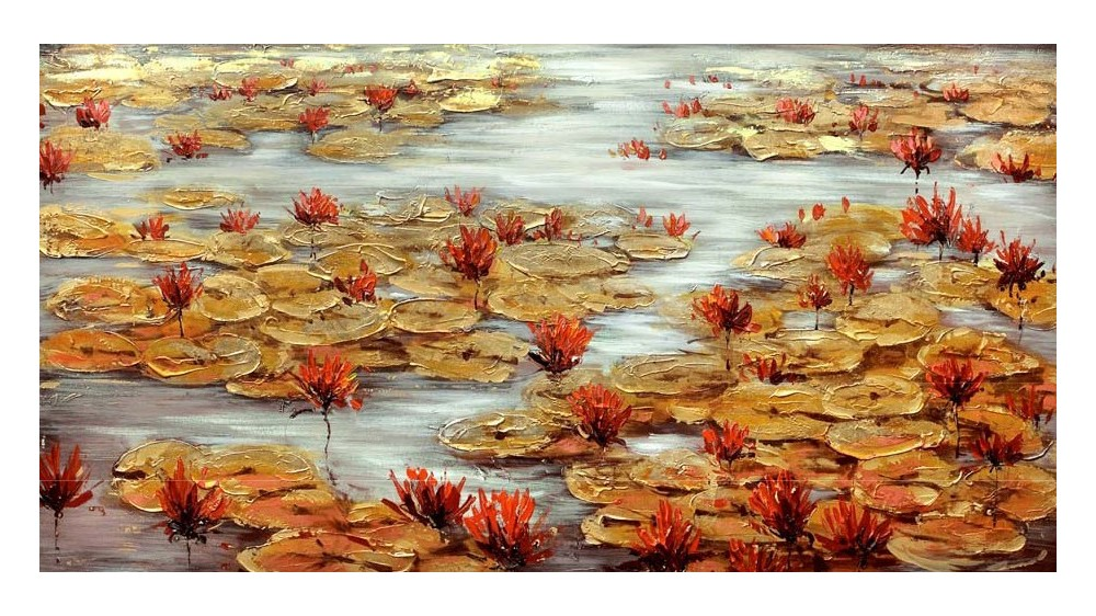 MILL POND - GOLD LEAF