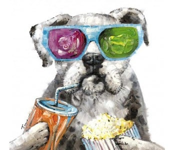 CANINE MOVIE BUFF