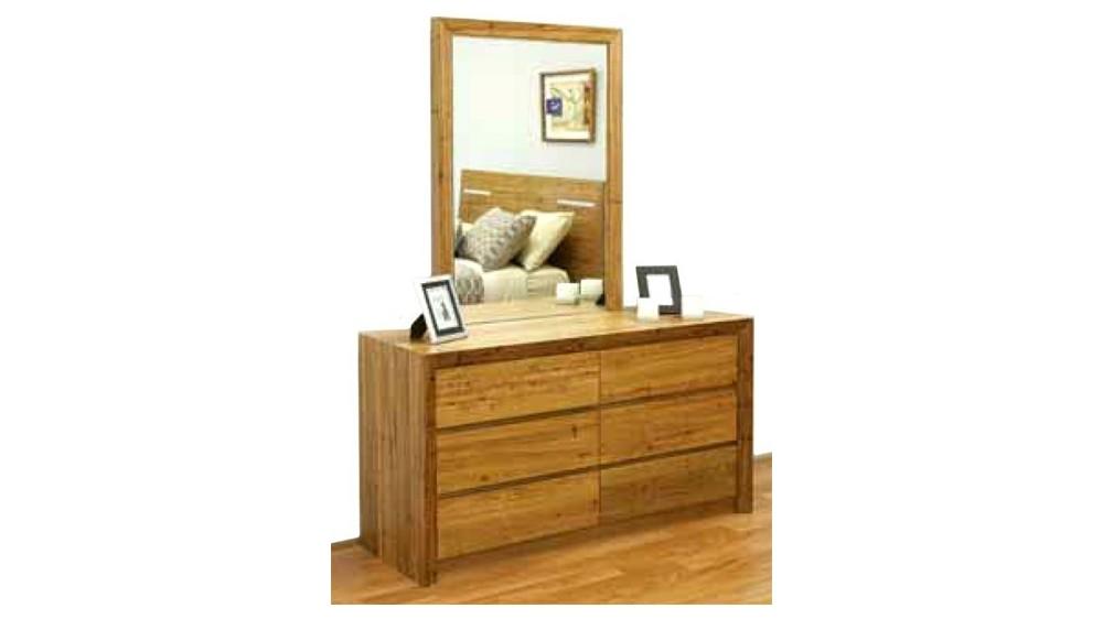Tora Dresser and Mirror