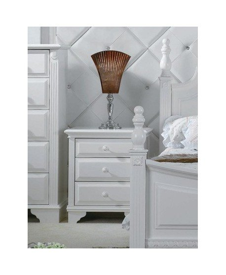 La Lune Timber Bedside