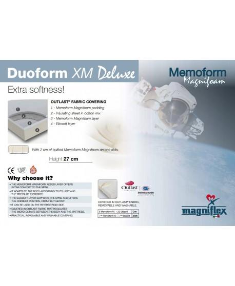 Magniflex Duoform XM 27cm Cooling Memory Foam Mattress