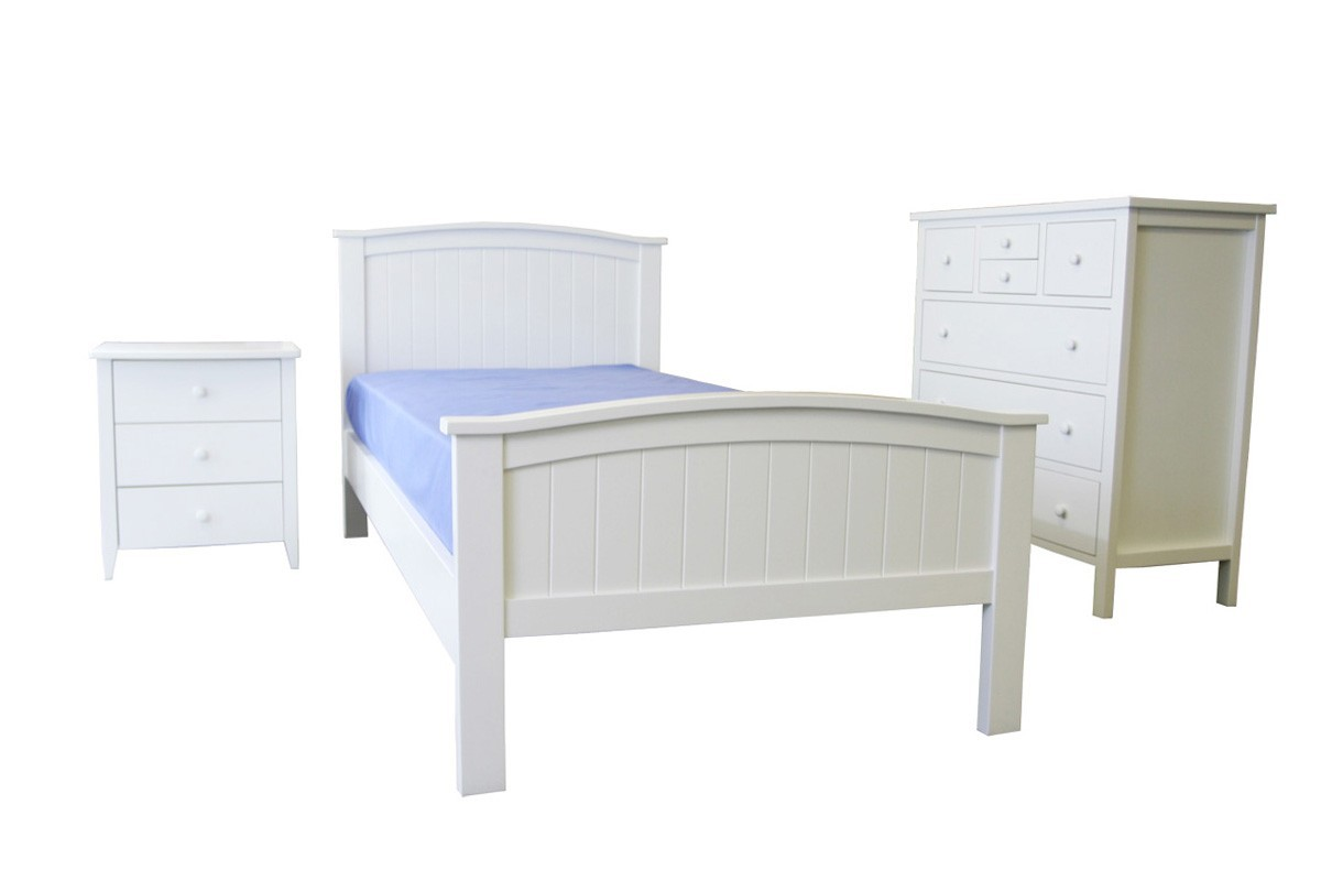 Stella Timber Bed Bedroom Suite Options