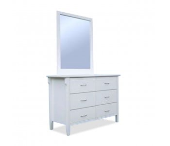 Romany Timber Dresser & Mirror