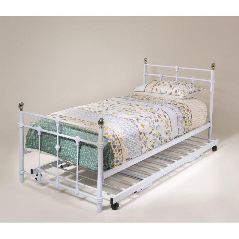 Molly Metal Bed Frame Trundle Option Available
