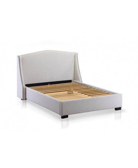Balmoral Custom Studded Wing Bed Frame