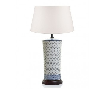 Imperial Ceramic Lamp Blue/White