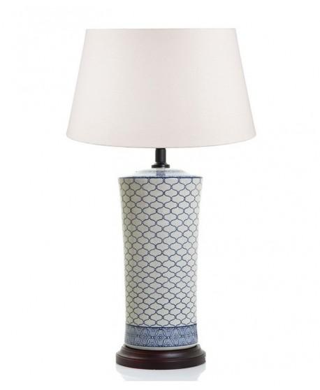 Imperial Ceramic Lamp Blue/White