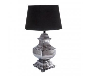 Delphi Lamp - Antique Silver