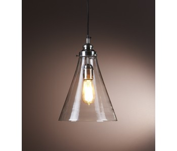 Gadsden Small Glass Hanging Lamp