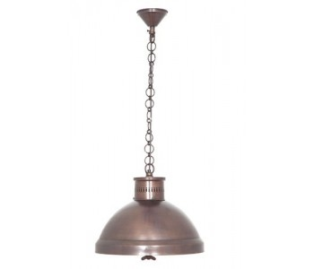 Madison Hanging Lamp in Silver or Copper Finish