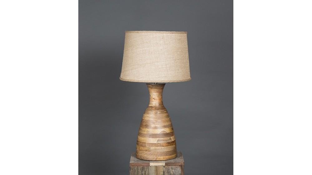 Emac & Lawton Singelton Wooden Table Lamp