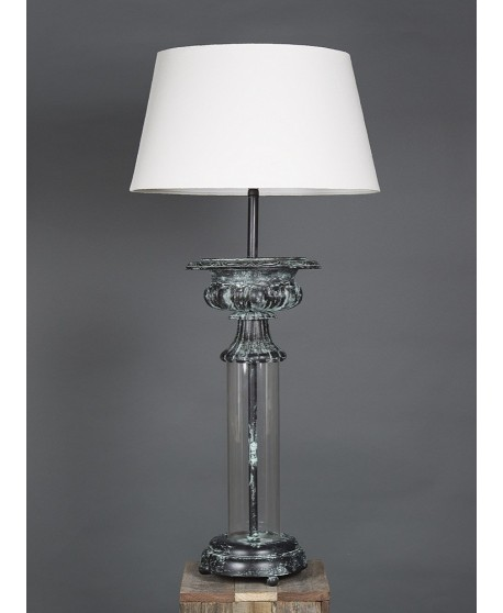 Emac & Lawton Parch Glass Table Lamp