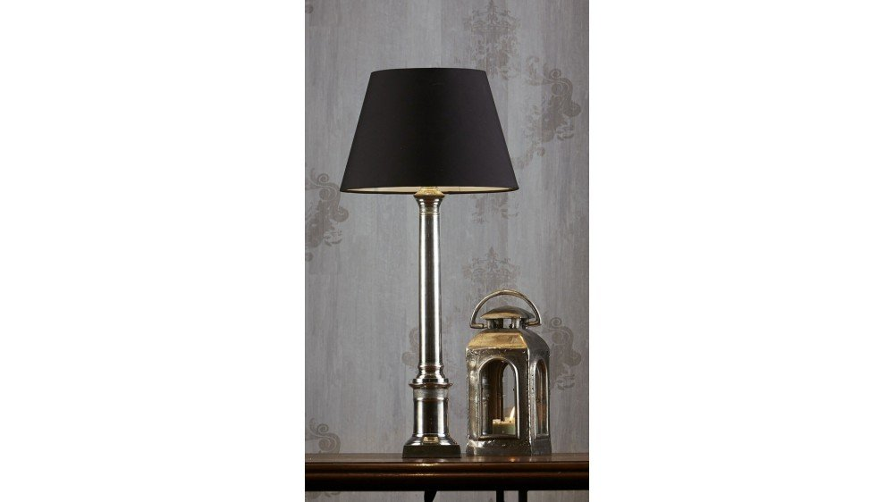 Emac & Lawton Wiltshire Table Lamp Antique Silver
