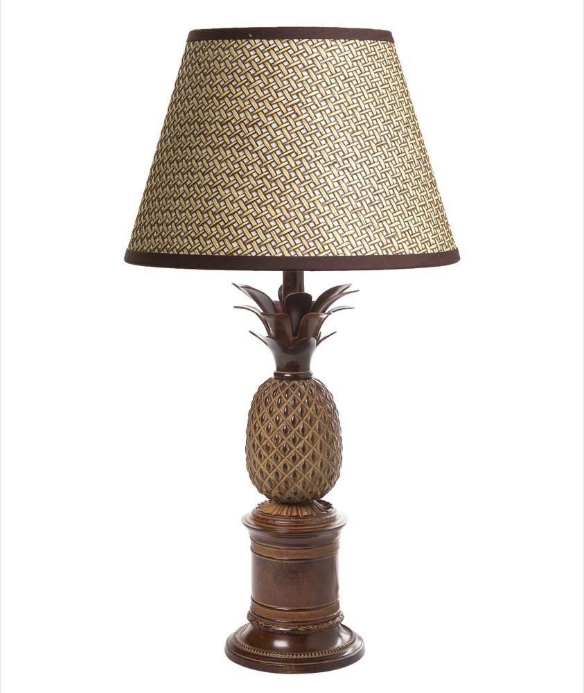 Emac Amp Lawton Bermuda Pineapple Table Lamp