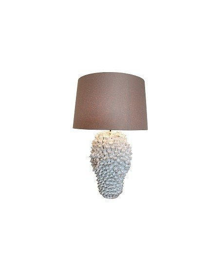 Emac & Lawton Singita Table Lamp in Cream or Blue