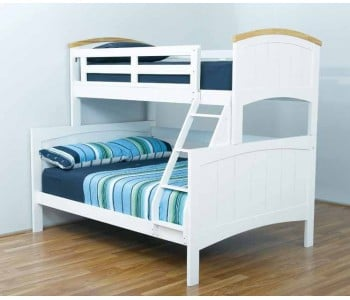 Ranch Double with Single Bunk Bed