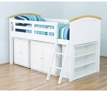 Ranch Cabin Loft Kids Bed