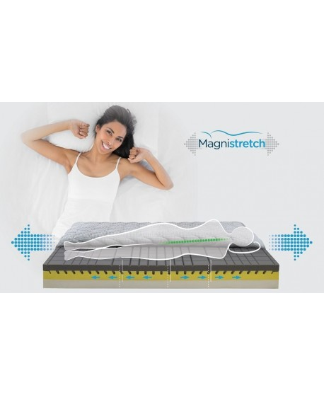 Magnistretch Memory Foam Medium 23cm Mattress