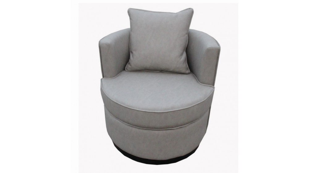 Jetz Swivel Relax Arm Chair with Cushion