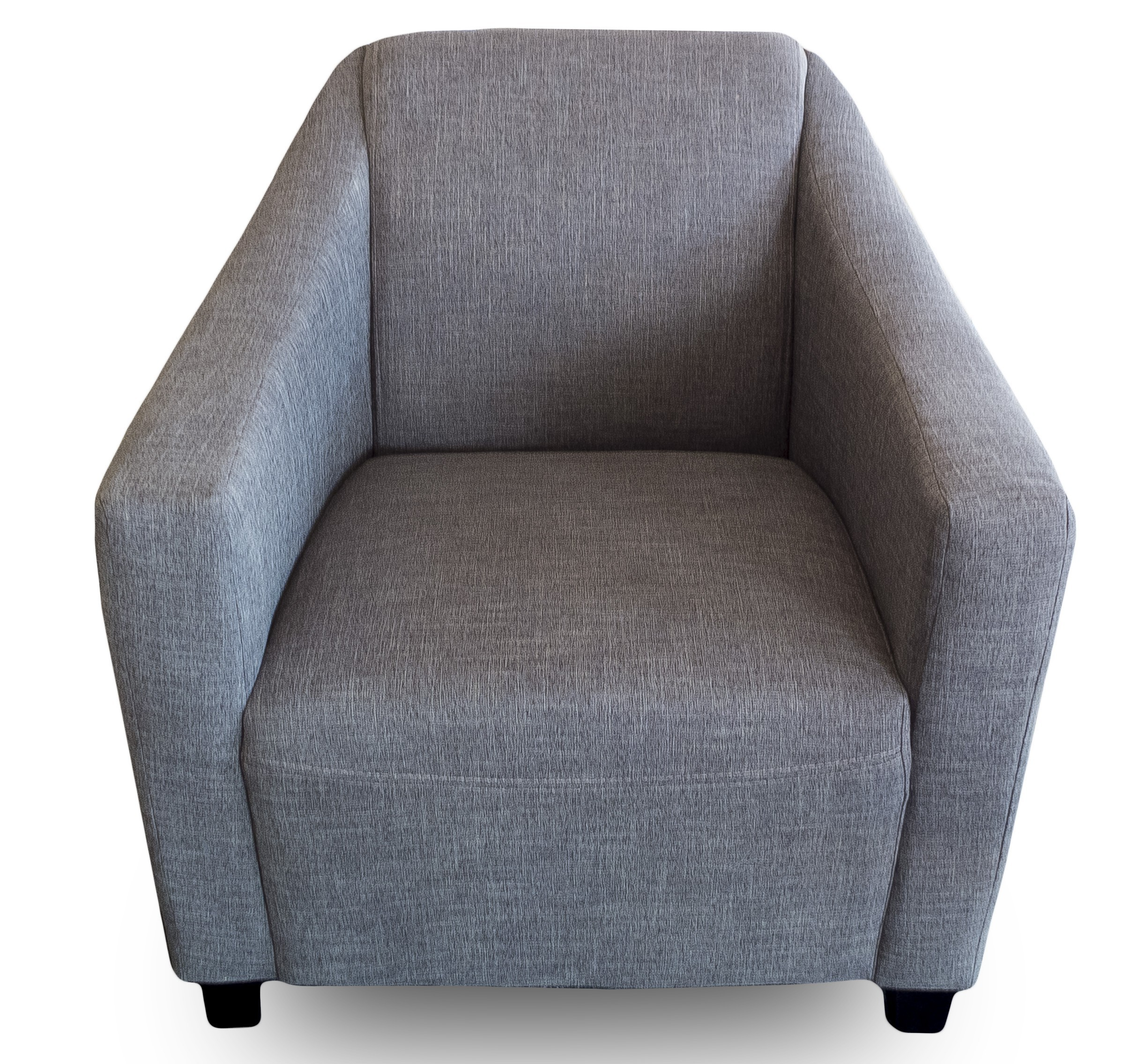 Daz Relax Fabric Arm Chair In Grey Colour
