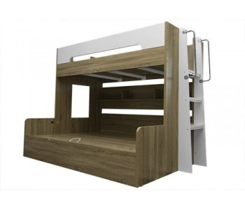 Teesh Gas Lift Bunk Bed Double/Single