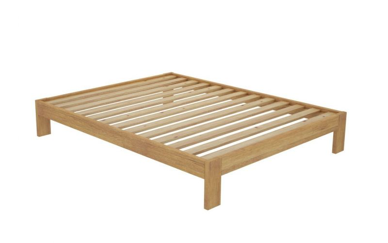 California custom timber bed frame without headboard for Single bed frame without headboard