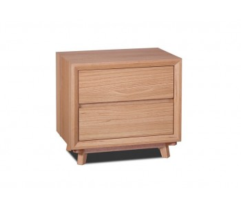 Springwood White Oak Bedside