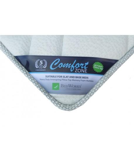 Comfort Zone Mattress + Sleepeezee Ensemble Base