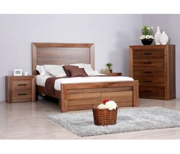 Berkshire Timber Bed with Drawers