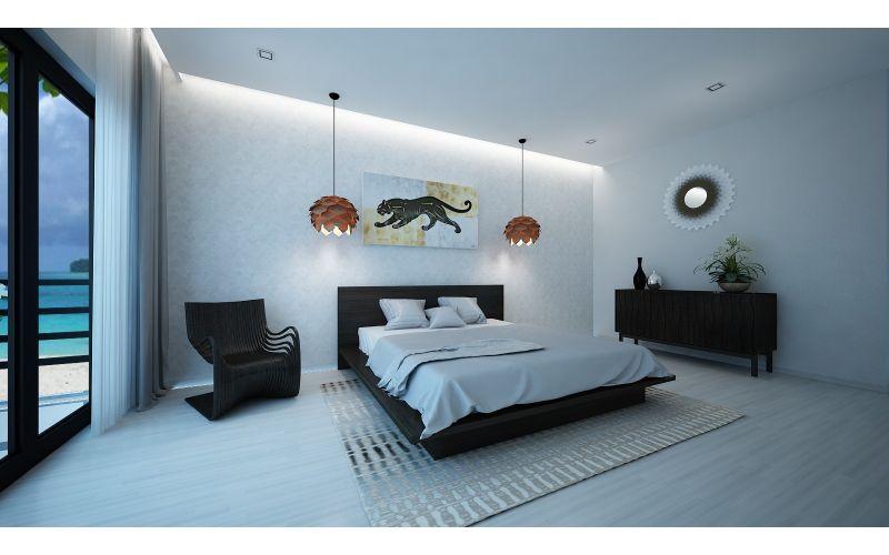 Tokyo Custom Timber Platform Bed