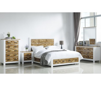 Arina Storage Timber Bed Frame - Suite Options