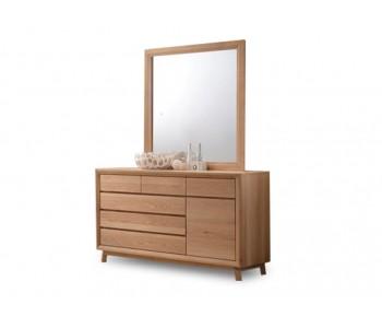 SpringWood Timber Dresser and Mirror