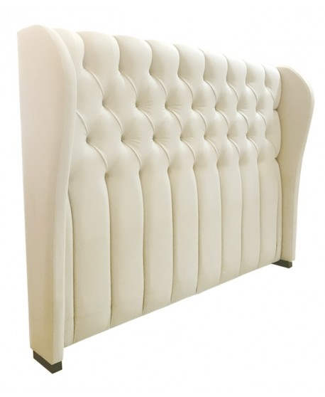 Chateau Custom Tufted Wing Bed Head