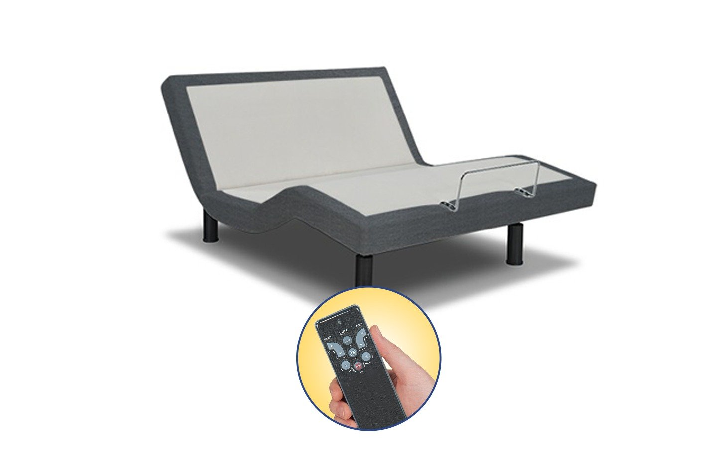reverie 3e essential wireless adjustable bed base