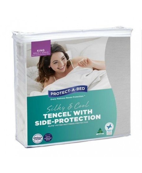 TENCEL® with Side Protection Elite Mattress Protectors