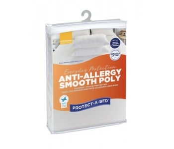 Protect-A-Bed Allerzip® - Anti Allergy Smooth Poly Pillow Protector